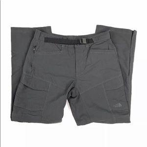 The North Face Mens Gray Convertible Pants Sz Med